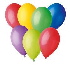 100 Palloncini Multicolor Colori Assortiti ARCOBALENO 23 cm Feste Party Palloni