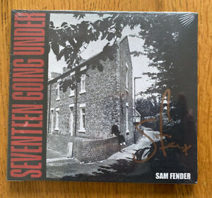 SAM FENDER SIGNED SEVENTEEN GOING UNDER CD BRAND NEW STILL SEALED