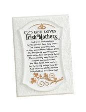 "New Irish Blessing for Mothers Plaque 5"" x 7"" Abbey Press"