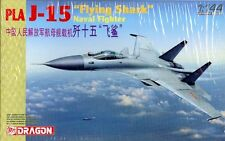 Dragon 1:144 PLA J-15 Flying Shark Naval Fighter Model Kit #4627