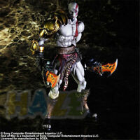 Play Arts Kai God of War Kratos 1/4 Action Figure Statue Toy 23cm New in Box