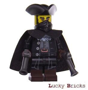 LEGO Minifiguren 71018 - Serie 17 -  Überraschungsfigur Bandit Räuber + M17 F16