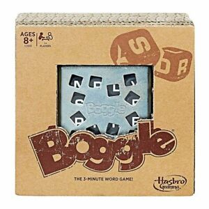 Boggle Rustic Edition Board Game NEW