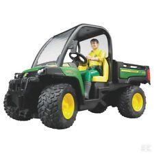 Bruder John Deere 855D Gator échelle 1:16 Modèle avec chauffeur Children's Collection