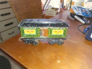 AMERICAN FLYER 1105 EXPRESS BAGGAGE CAR, G, PREWAR O GAUGE