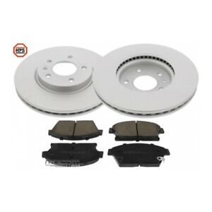 Kit Brakes Discs And Pads Carbon Front For Vauxhall Astra J