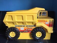 Raro Juguete camión Grande Tonka Caja Toybox one-off en Reino Unido 80s competencia Premio