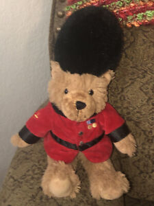 "Harrods Royal Guard Guardsman 14"" Teddy Bear Beefeater Plush Toy"