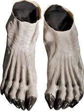 Morris Costumes Accessories & Makeup Hands & Feet Latex Gray Black Feet. DU987