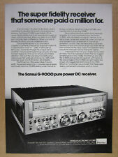 1978 Sansui G-9000 Stereo Receiver photo vintage print Ad