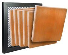 13 x 21-1/2 x 1 - (6) Merv8 Hvac Media Filter Pads Orange & Air Filter Frame