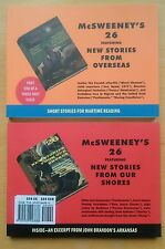 McSweeney's Issue 26 Paperback Book Set (McSweeneys Quarterly Concern TPB)