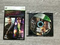 Grand Theft Auto Episodes from Liberty City Platinum Hits Disc & Manual Xbox 360