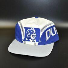 Duke Blue Devils Vintage 90's NCAA Twins Enterprise Men's Snapback Cap Hat - NWT