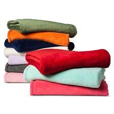 Pillowfort Plush Large Throw Blanket Red