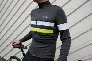 Rapha Brevet Gray XL Long Sleeve Jersey