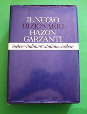 Il nuovo Dizionario Hazon Garzanti - 1^ Ed. Garzanti 1993 - Inglese