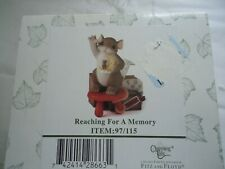 """Fitz & Floyd Charming Tails Collectible """"Reaching for a memory"""" Club Exclusive"""
