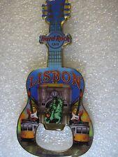 LISBON,Hard Rock Cafe,BOTTLE OPENER MAGNET V-14