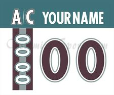 Mighty Ducks of Anaheim Customized Number Kit for 97-00 Alternate Jersey