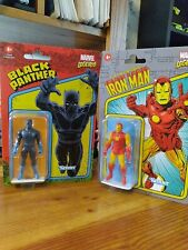 Marvel Legends, Black Panther And Iron Man, lot of two. New and unopened.