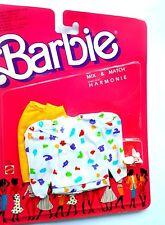 Abito Barbie Fashion Moden Mix & Match Harmonie - 4527 Mattel Vintage 1987