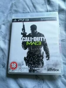 Playstation 3 game Call of duty Modern warfare 3. Good condition, bargain!