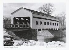 "*Postcard-""The Sheffield Bissell Bridge""  *Massachusettes (A319)"