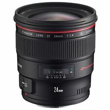Excellent! Canon EF 24mm f/1.4L II USM - 1 year warranty