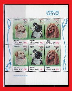 ZAYIX - 1982 New Zealand B114a MNH - Dogs