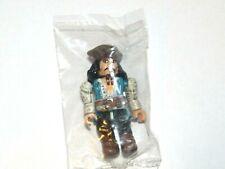 NEW Mega Bloks Pirates Of The Caribbean Dead Mans Chest Mini Figure Jack Sparrow
