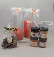 Clear Cello Gift  Party Crafts Sweets Display Bags With Side Gusset