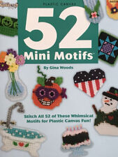 Plastic Canvas Pattern 52 Mini Motifs 52 Fun & Whimsical Designs