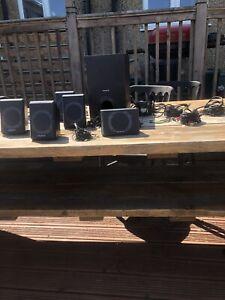 Creative Inspire P5800 5.1 Multimedia / Surround Sound System. Superb Condition.