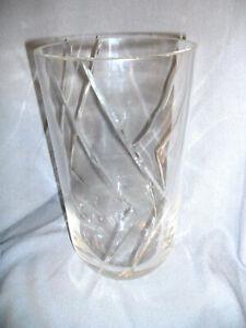 "13"" tall vase Cenedese & Albarelli - snc Murano - ve Italy  Glass Vase Signed"