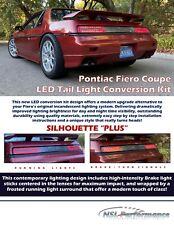 "Pontiac Fiero LED Tail Light Conversion Kit SILHOUETTE ""PLUS"""