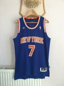 NEW YORK KNICKS NBA BASKETBALL JERSEY CARMELO ANTHONY #7 ADIDAS SWINGMAN ADULT