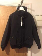 Dior Homme Black Classic Padded Bomber Harrington Jacket IT 52/UK 42 £1375