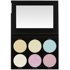 BH Cosmetics Iridescent BLACKLIGHT HIGHLIGHTER PALETTE Authentic UNICORN Colors