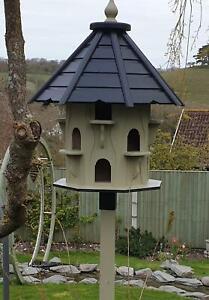 DOVECOTE DOVECOTES DOVE COTE BIRD HOUSE GARDEN FEATURE IN OLIVE GREEN