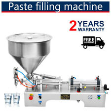 Liquid Paste Filling Machine viscous liquid Pneumatic Bottler Filler 100-1000ml
