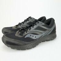 Saucony Versafoam Cohesion 12 Men's Running Black shoes S20471-10 Size 10 M