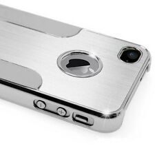 Apple iPhone 5 5S Cover Alu Hard Case Schutz Hülle Bumper Chrom Aluminium B-Ware