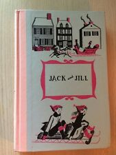 JACK AND JILL JUNIOR DELUXE EDITION BOOK BY LUOISA MAY 1956