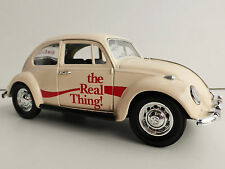 COCA COLA VW ESCARABAJO 1/24 MOTORCITY CLASSICS 440047 BEETLE VOLKSWAGEN REAL th