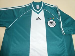 GERMANY adidas WORLD CUP 1998 FOOTBALL SOCCER SHIRT JERSEY TOP LARGE