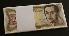Venezuela UNC Half Bundle 100 Bolivares Bs September 1979 50 Notes P8