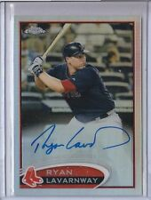 RYAN LAVARNWAY 2012 TOPPS CHROME ROOKIE AUTO REFRACTOR 391/499