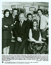 HELEN SLATER CHELSEA FIELD WILLIAM RUSS CAPITAL NEWS ORIGINAL 1990 ABC TV PHOTO