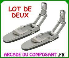 1 LOT DE 2 LAMPES DE LECTURE PLIABLE A LED - LISEUSE (REF 15093-1)